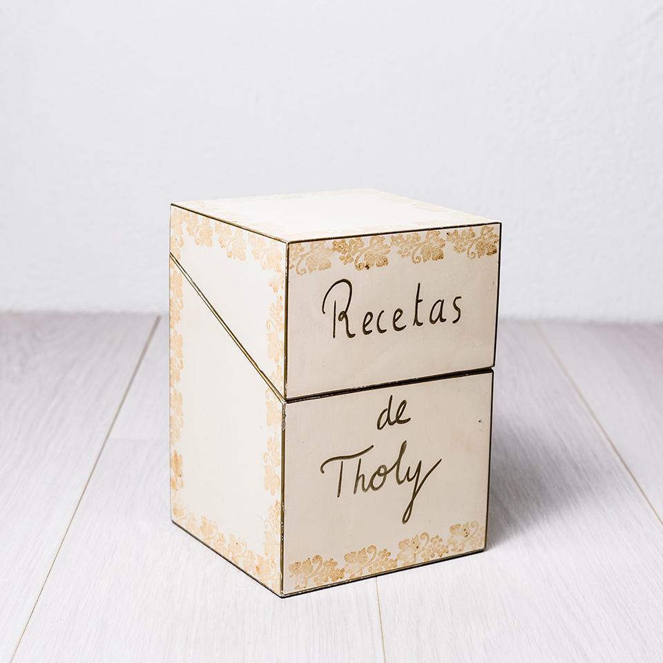 Caja recetas