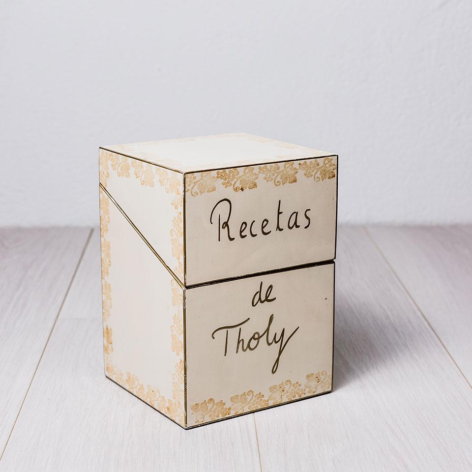 caja de recetas