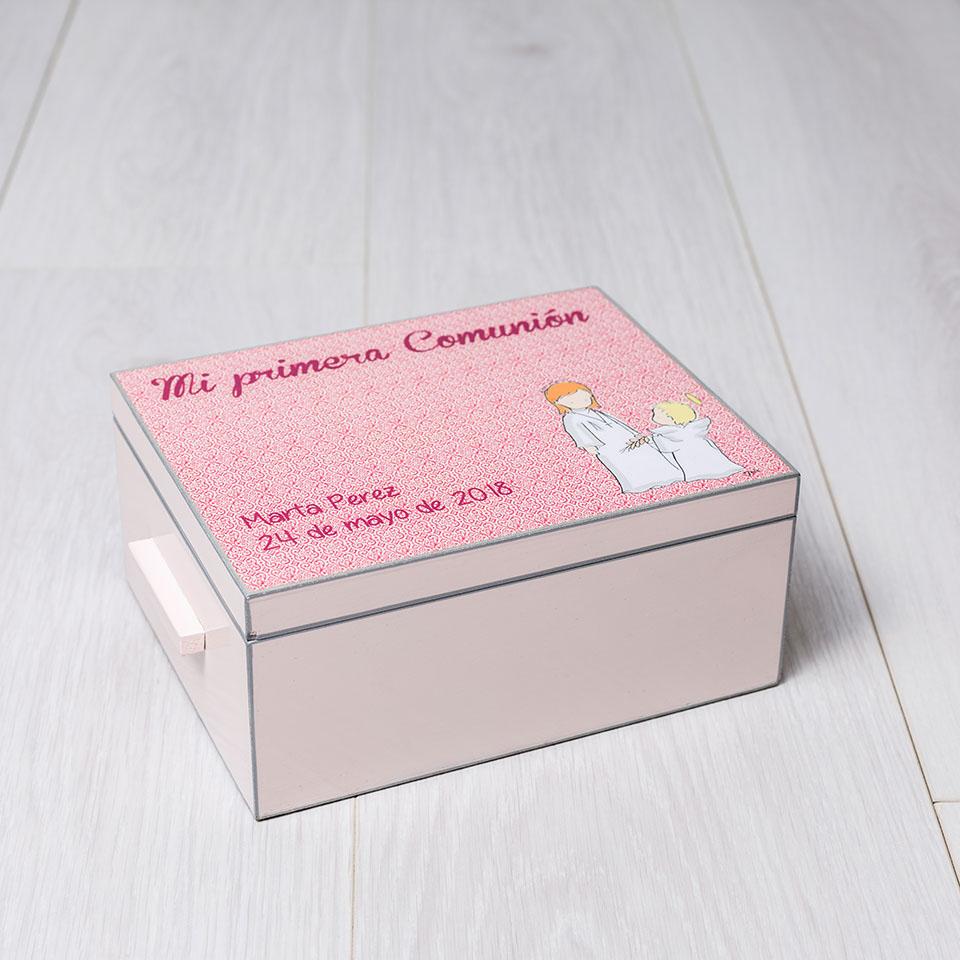 caja recuerdos 1ra comunion