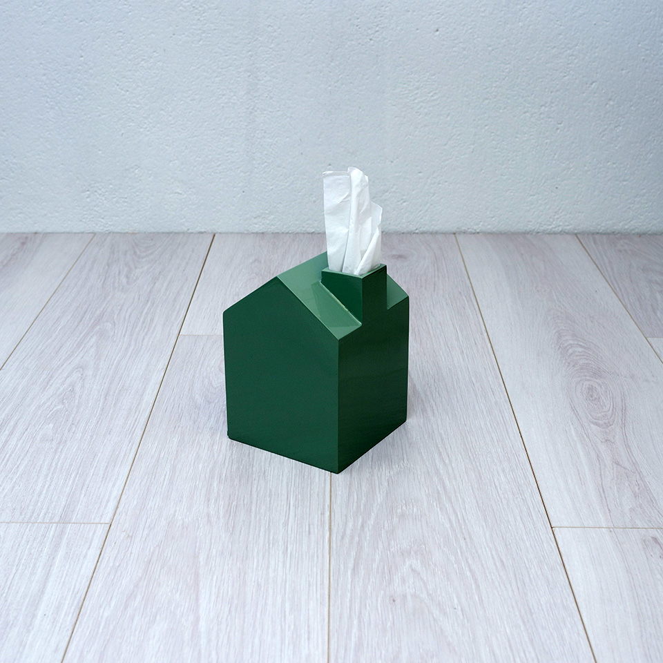 Caja kleenex casita